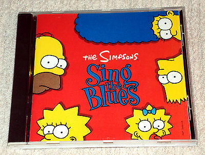 The Simpsons – Sing The Blues (CD)