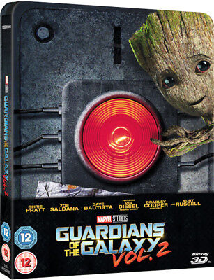 Marvel Guardians of the Galaxy Vol. 2 - 3D Blu-ray Limited Edition Steelbook