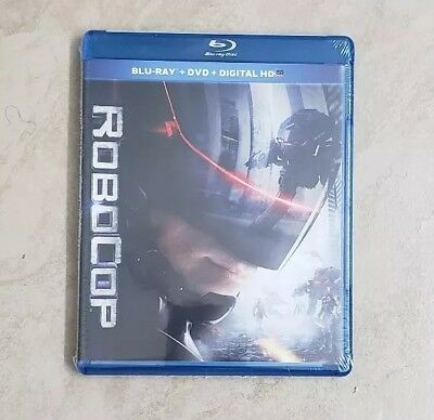 Robocop (Blu-ray + DVD, 2014, 2-Disc Set) With Digital Download