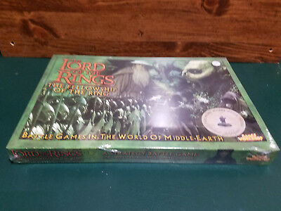 Lord of the Rings Fellowship of the Ring Games Workshop MINT Sealed Box Game OOP