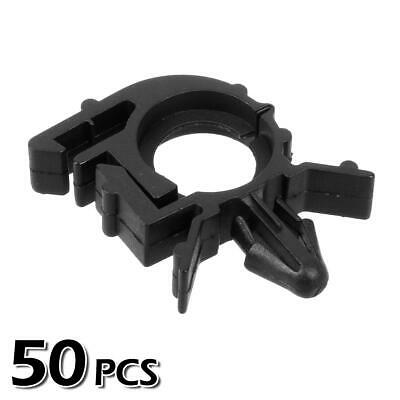 50x Nylon Wire Loom Routing Split Conduit Clips Rivet Retainer for GM Universal