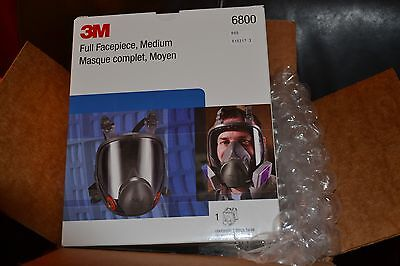 3M Medium Full Face Respirator 6800 MADE IN USA Ships Free From US