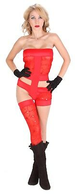 NEW SEXY Women Adult Halloween Theme Party Cosplay Costume DELUXE Lady Gaga NWT