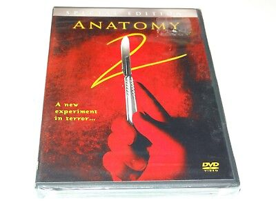 ANATOMY 2 Rare OOP Widescreen DVD Special Edition REGION 1 Brand New & SEALED