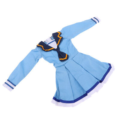 1/3 BJD Dress Blue Lolita Dress School Uniform Outfits For Night Lolita Doll
