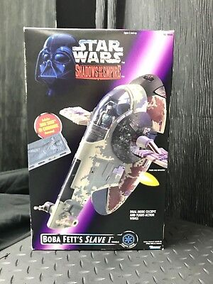 Star Wars - Shadows Of The Empire - Boba Fett's Slave I Vehicle - Kenner (1996)