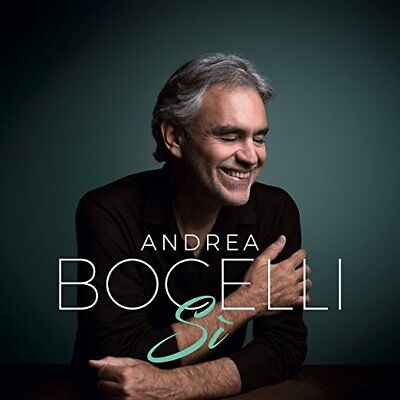 "2018 Andrea Bocelli ""Si"" CD, brand new CD still sealed!"