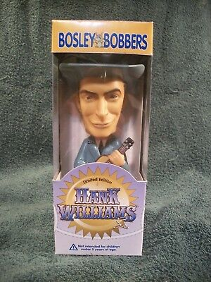 Bosley Bobbers Limited Edition Hank Williams Sr. Bobblehead - New in Box lot#748