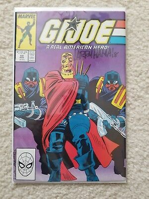 GIJOE AUTOGRAPHED LARRY HAMA #69 MAR (Marvel Comics) SIGNED 2018 COMIC BOOK EYES