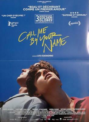 Call Me By Your Name - Lgbt / Homosexuality - Original Small French Movie Poster