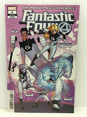 Fantastic Four #4 Will Robson Variant Marvel Comics 2018