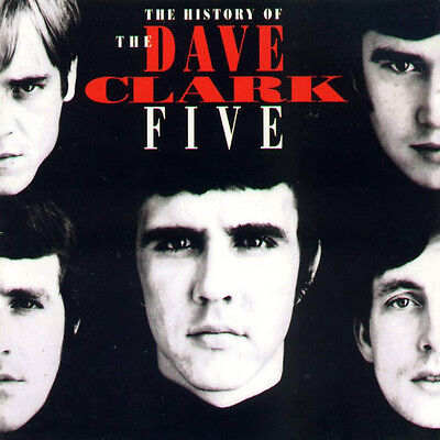 The History Of The Dave Clark Five RARE 2CD! FREE SHIPPING!
