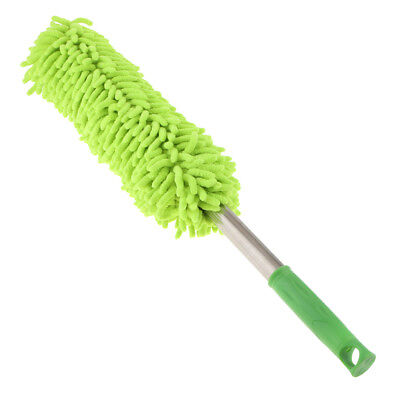 Microfiber Dust Shan Head Replacement Duster Household Dusting Brush Green