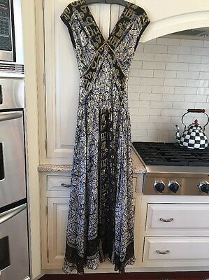 8fdbd80fe0 NICOLE MILLER COLLECTION silk gown
