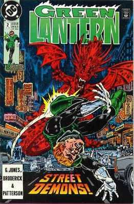 Green Lantern (1990 series) #2 in Near Mint minus condition. DC comics [*t1]