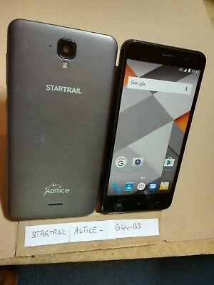 TELEPHONE PORTABLE FACTICE dummy smartphone N°B44-B3 : STARTRAIL with Altice