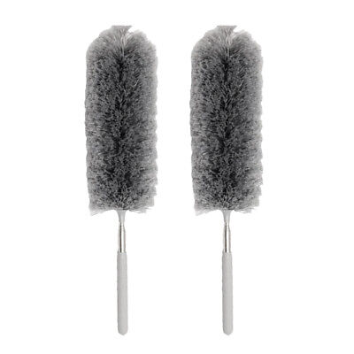 2pcs Household Duster Cloth Microfiber Cleaning Hand Duster Waxing Polishing