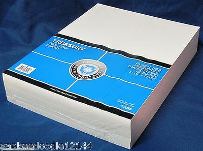 100 PSD Treasury Comic Book Resealable Poly Bags + CSP Acid Free Backer Boards