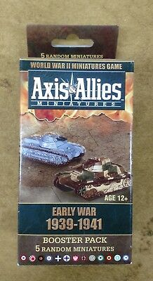Axis And Allies Miniatures -  Early War 1939-41 Booster
