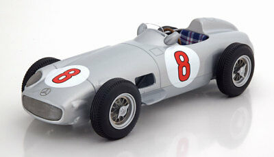 1:18 I-Scale Mercedes W 196 GP Netherland, World Champion Fangio 1955