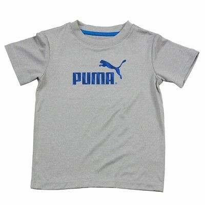 Puma Infant/Toddler Boy's No. 1 Logo Short Sleeve Crew Neck Sport Shirt