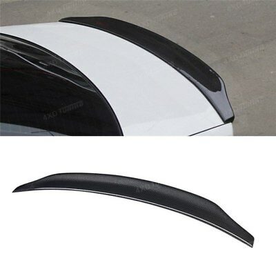 Audi A4 S4 B8 Caractere Style Painted Gloss Black Saloon Boot Spoiler trim