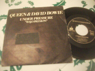 Davd Bowie, Queen, Under Pressure, Bajo Presion, Spanish Edt + Soul Brother