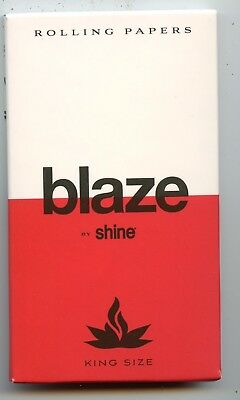 Shine Blaze King Size rolling papers