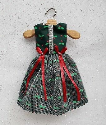 Blythe Doll Pullip Dress Pineapple Bow Floral Print Yellow Lace