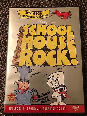 School House Rock On Dvd In Like New Condition 2 Disc Set Disney