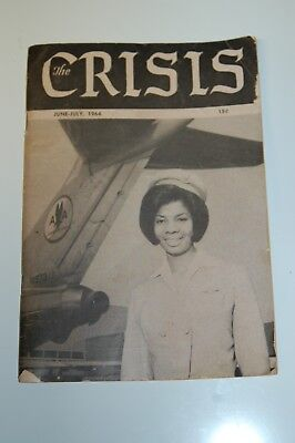 The Crisis - A Record of the Darker Races  June - July 1964 Vol. 71 No. 6