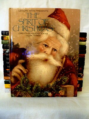 Lot Of 17 The Spirit Of Christmas Books 1 & 3-18 Crafts Decorating Gifts Recipes