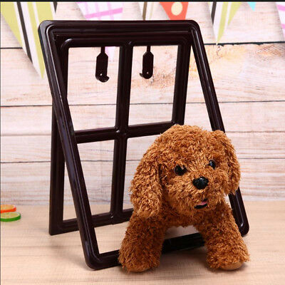 PET DOG CAT Kitty Door for Screen Window Gate Pet Cottage Crates Dog Fence