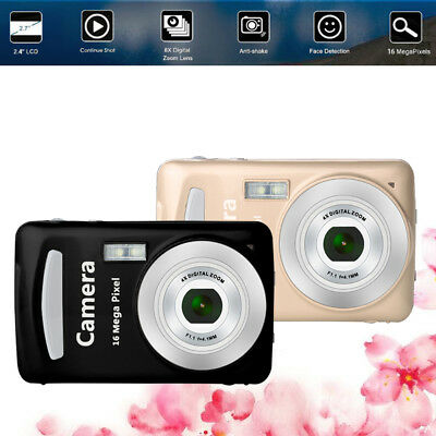 2.4inch Screen Digital Camera 16MP 8X Zoom Anti-Shake Face Detection Camcorder