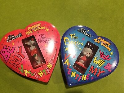 Pinky and The Brain Valentine Toys: 1998 Mint Condition