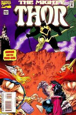 Thor (1966 series) #483 in Very Fine condition. Marvel comics [*s0]