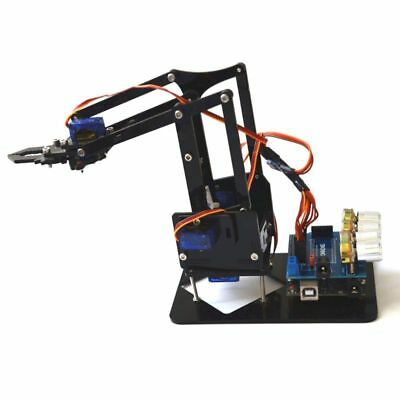 DIY Acrylic Robot Arm Robot Claw for Arduino Mechanical Kit 4DOF Grab Robot Tool