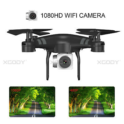 KY101D 3D VR Support 2.4G Drone 1080P FPV One Key Take Off&Landing 5MP HD Camera