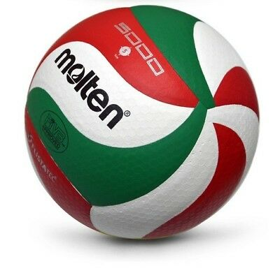 PU Leather V5M5000 / VSM4500 Volleyball Ball Size5 Soft Touch w/ Net Bag+ Needle