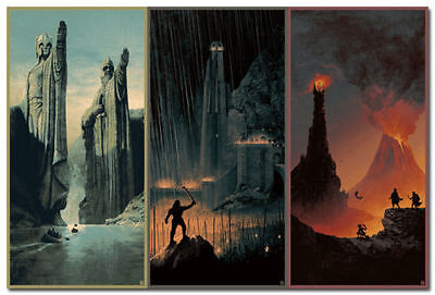 The Hobbit The Lord Of The Rings Movie Art Silk Poster 13x24 24x43 inch