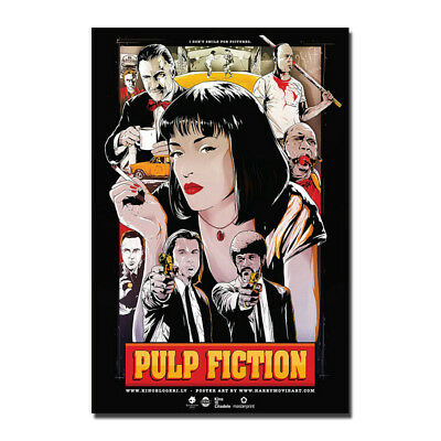 24x36 14x21 40 Poster Pulp Fiction Kill Bill Uma Thurman Art Hot P-2261
