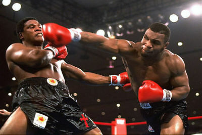 Mike Tyson Boxer Boxing Sports Silk Wall Poster Vintage 13x20 24x36 inches 04