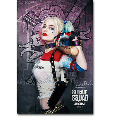 Suicide Squad Harley Quinn Movie Art Silk Poster 24x36inch