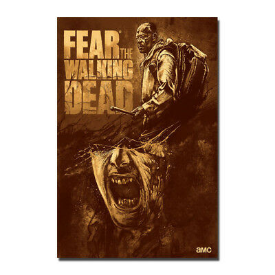 The Walking Dead Season 8 TV Series Art Silk Poster 12x18 24x36