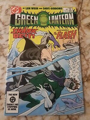 Green Lantern #175 Vf/nm Mistake Variant Shark 1 Flash 1 App 1984 Dc Comic