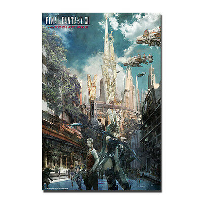 Video Game Final Fantasy XII Art Silk Poster 13x20 24x36 inches