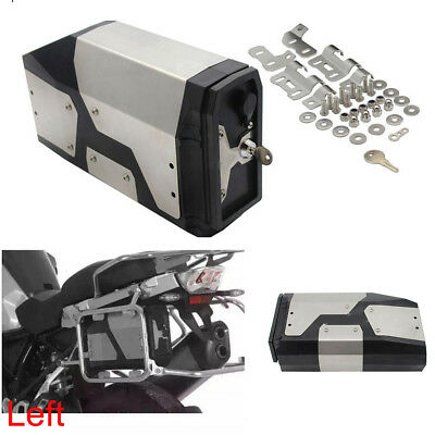 4.2L Tool Box Stainless For 2004-2018 BMW R1200GS LC Adventure Left Side Bracket