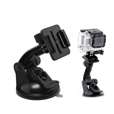 Car Window Windshield Glass Suction Cup Mount for Gopro Hero 1 Camera Black NeZ