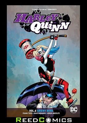 HARLEY QUINN VOLUME 6 ANGRY BIRD GRAPHIC NOVEL Paperback Collects (2016) #35-42