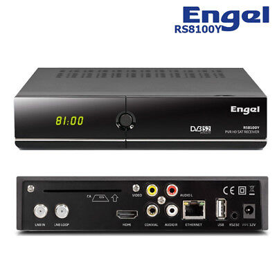 Receptor Satelite Engel Rs 8100 Y Hd Pvr